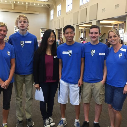 Thank You Teen Volunteers in Action SD Chapter 4!