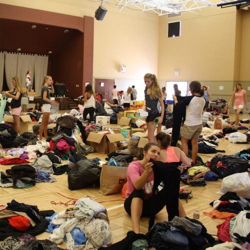 August 2015 Sorting Event